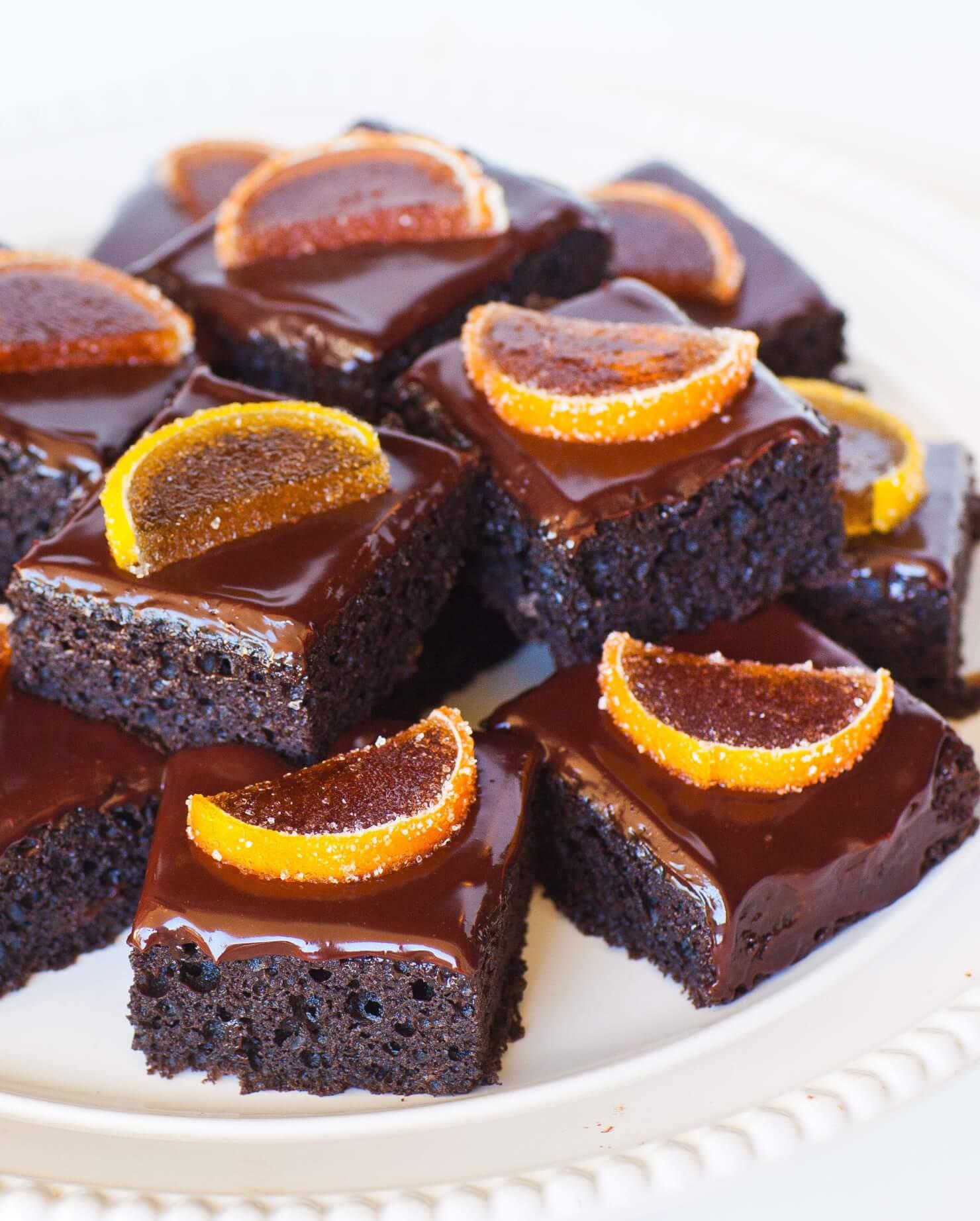 Orange Chocolate Cake Recipe Simple