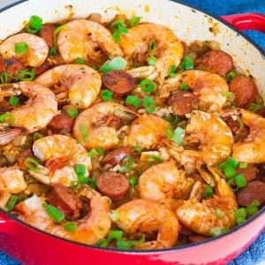 shrimp and sausage jamalaya
