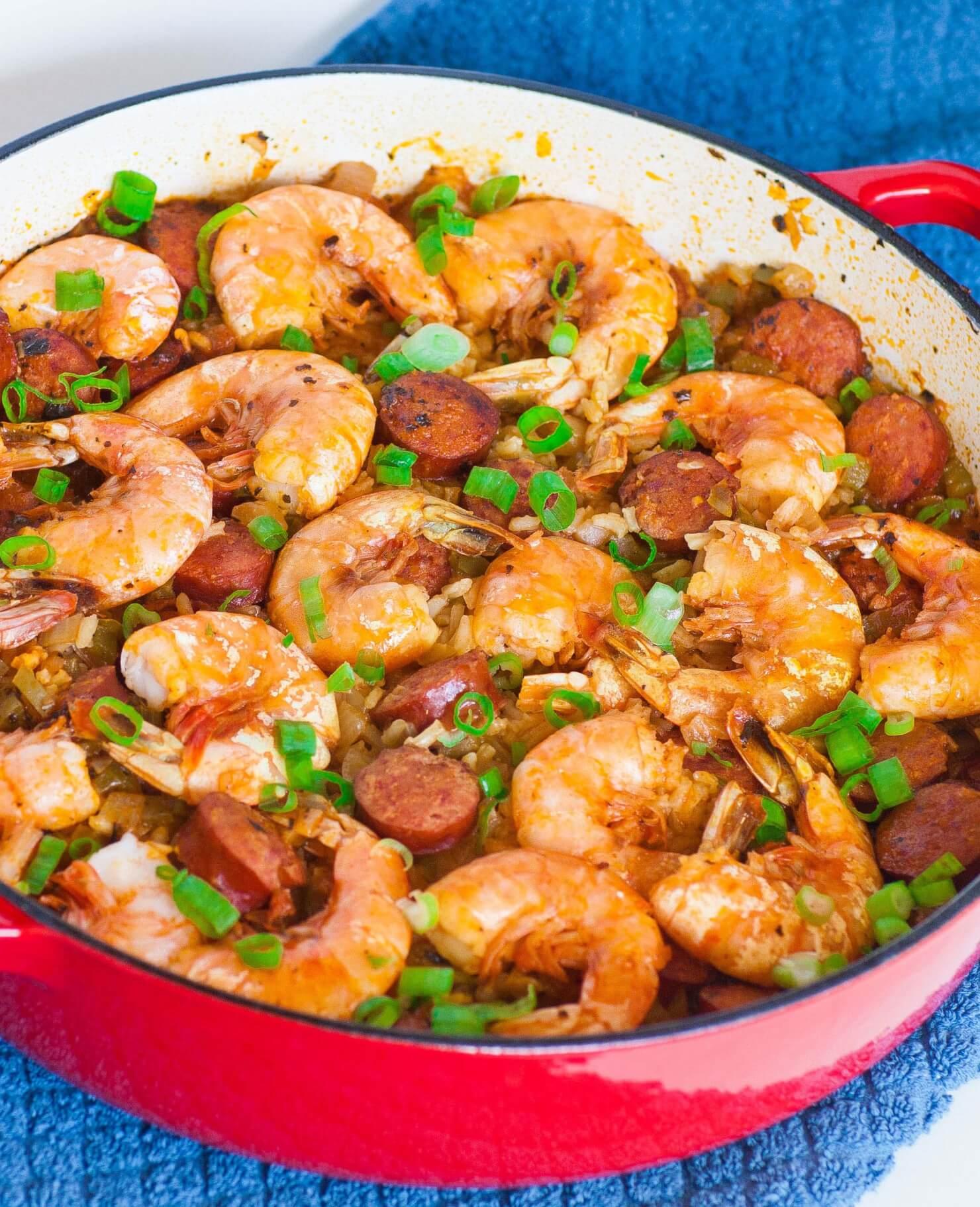 shrimp and sausage jamalaya