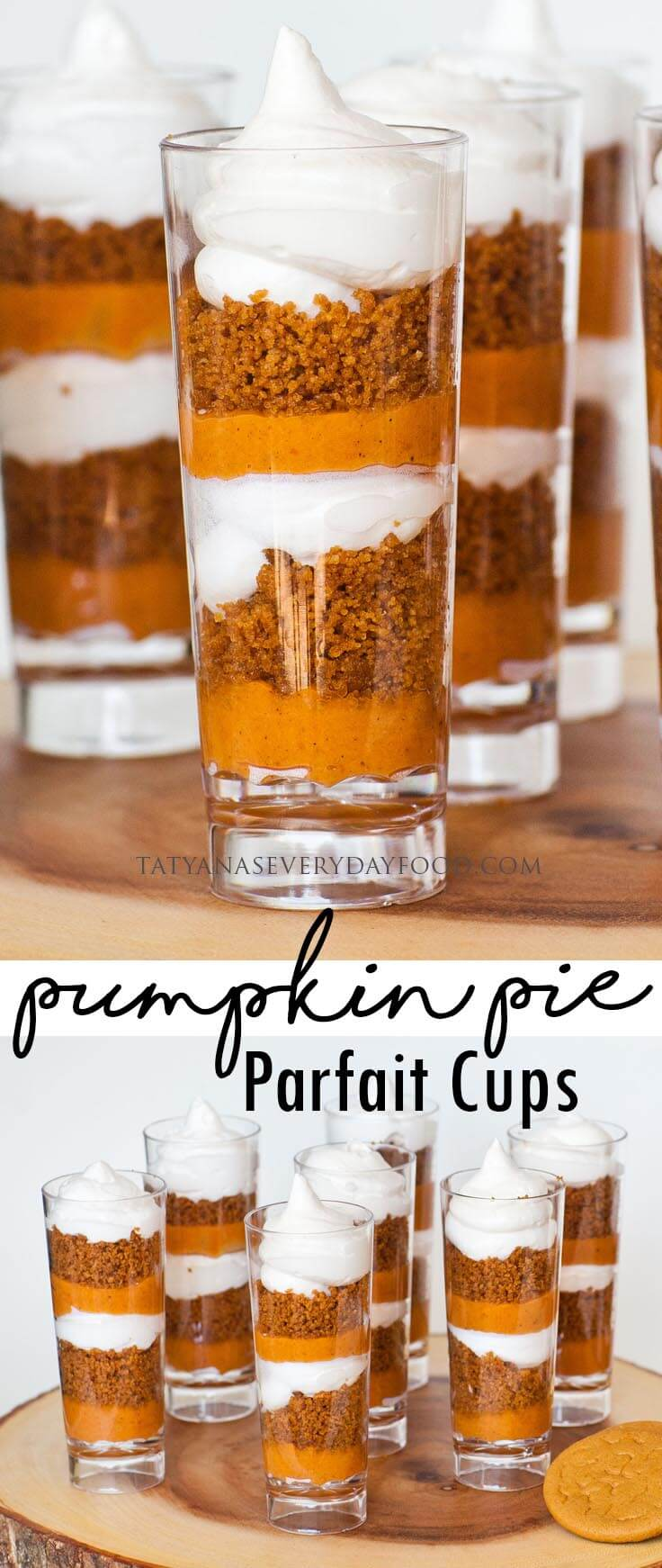Pumpkin Pie Parfait Cups