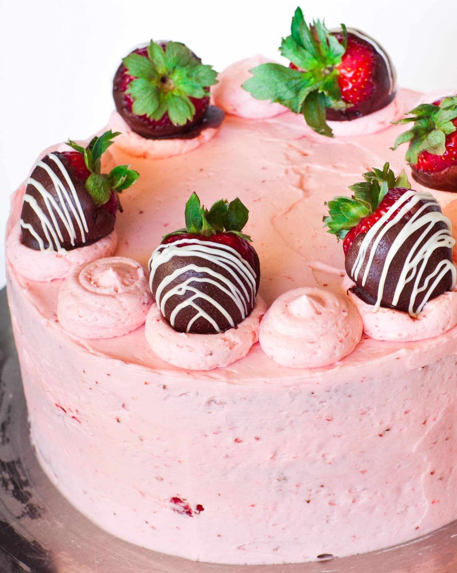 strawberry champagne cake tatyanas everyday food