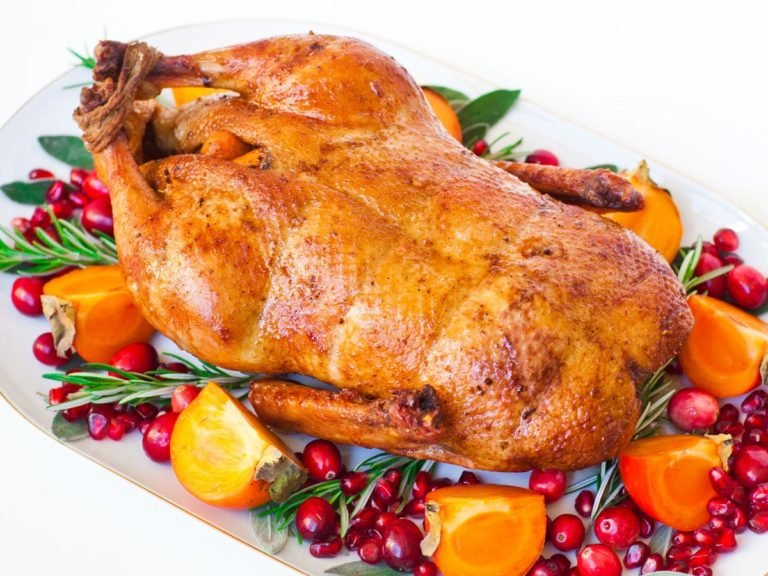 oven roasted duck recipe with orange and garlic