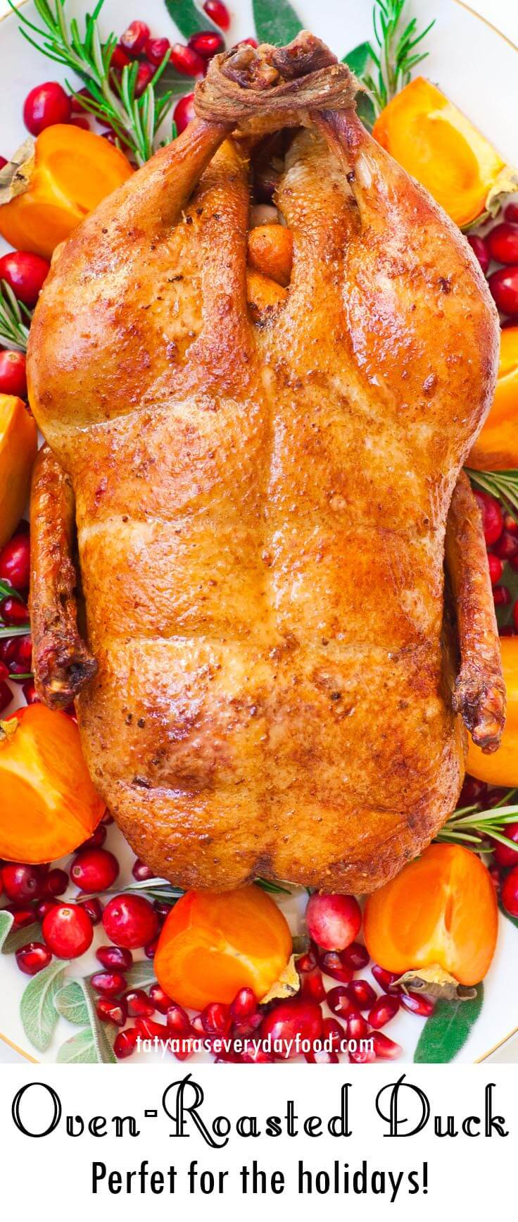 Oven Roasted Duck video recipe