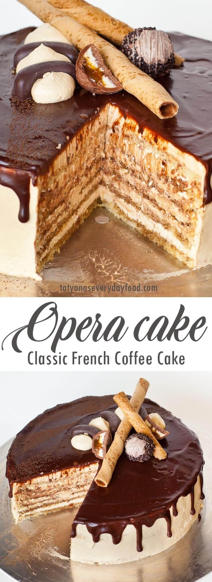 Classic Opera Cake video recipe