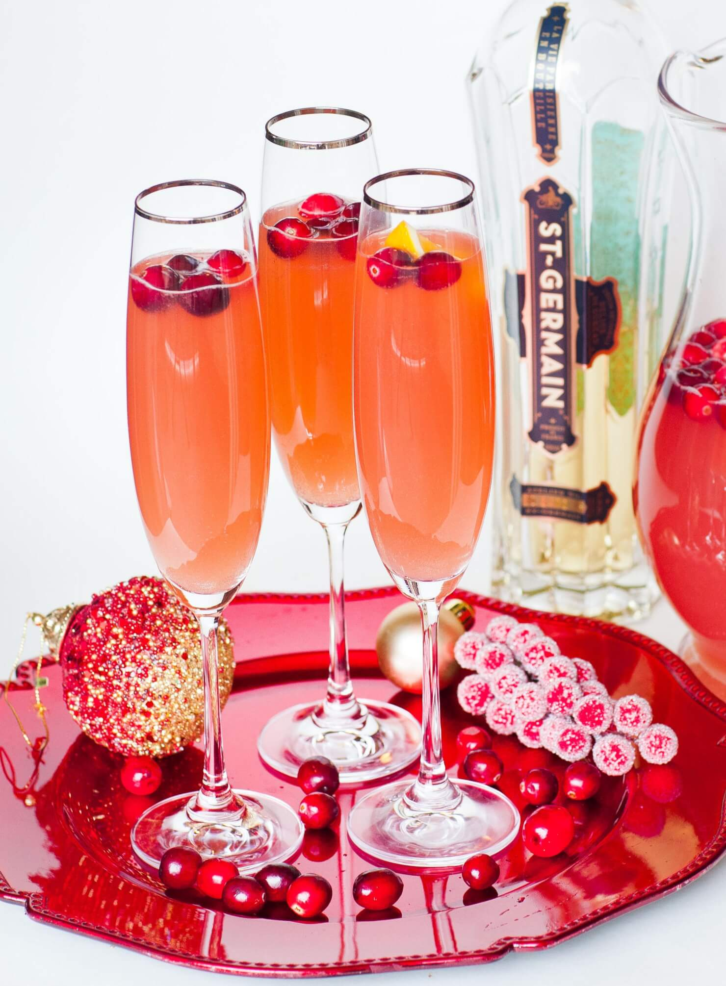 Sparkling Cranberry Punch Tatyanas Everyday Food