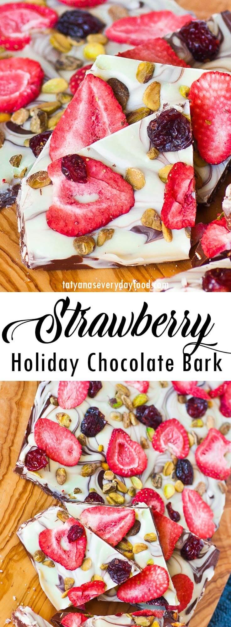 Holiday Chocolate Bark video recipe