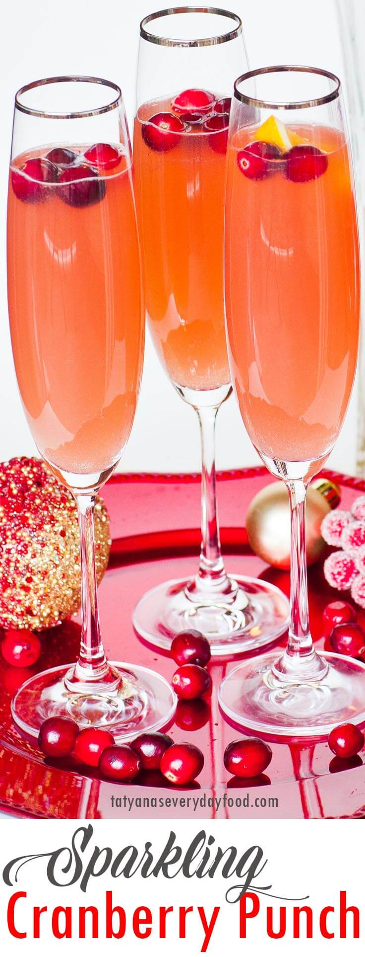 Sparkling Cranberry Punch video recipe