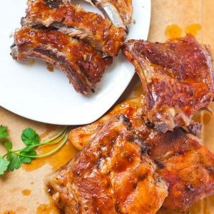 beer barbecue pork ribs