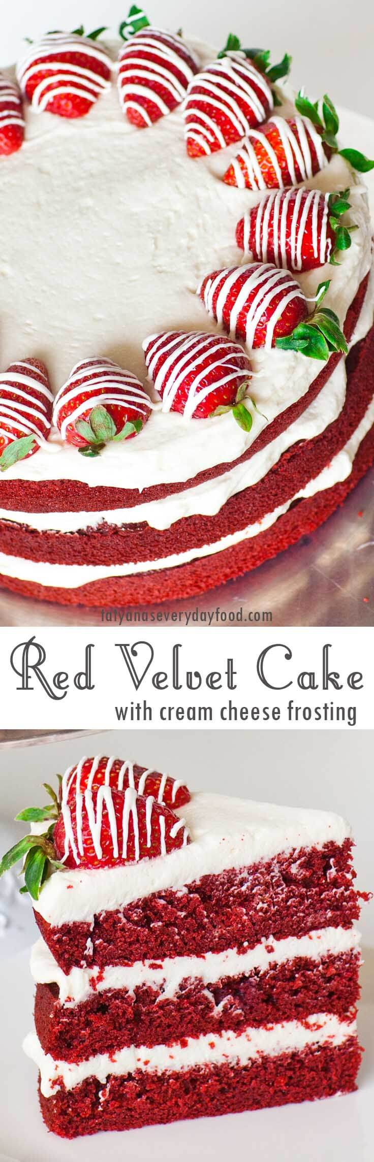 Classic Red Velvet Cake video recipe