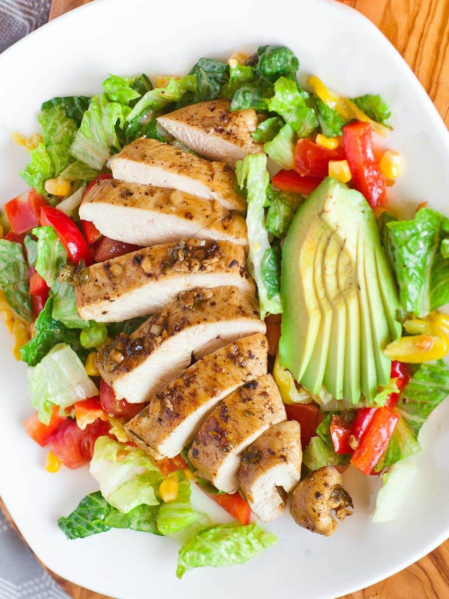Salad Recipes With Chicken