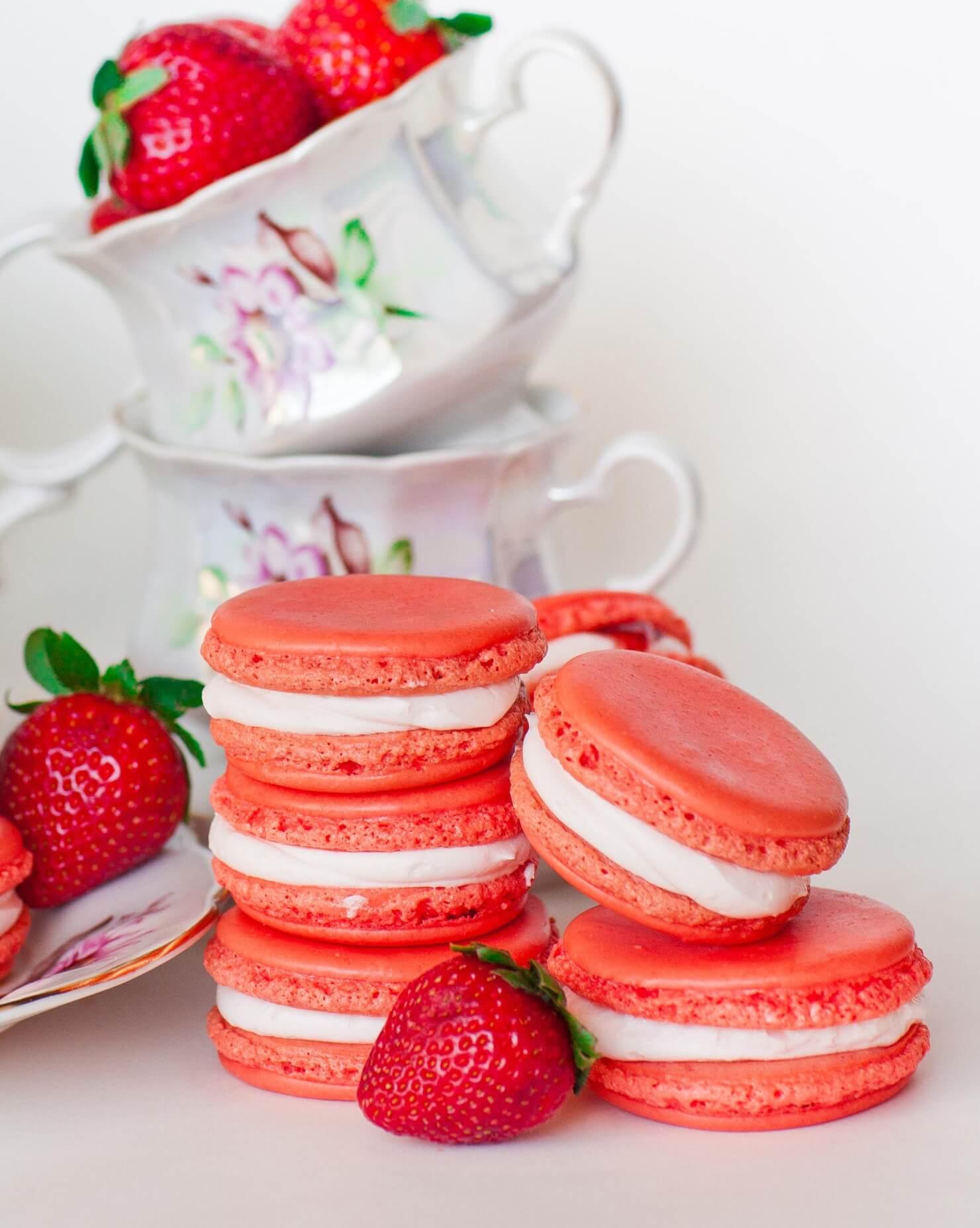 French Macaron Cake Recipe