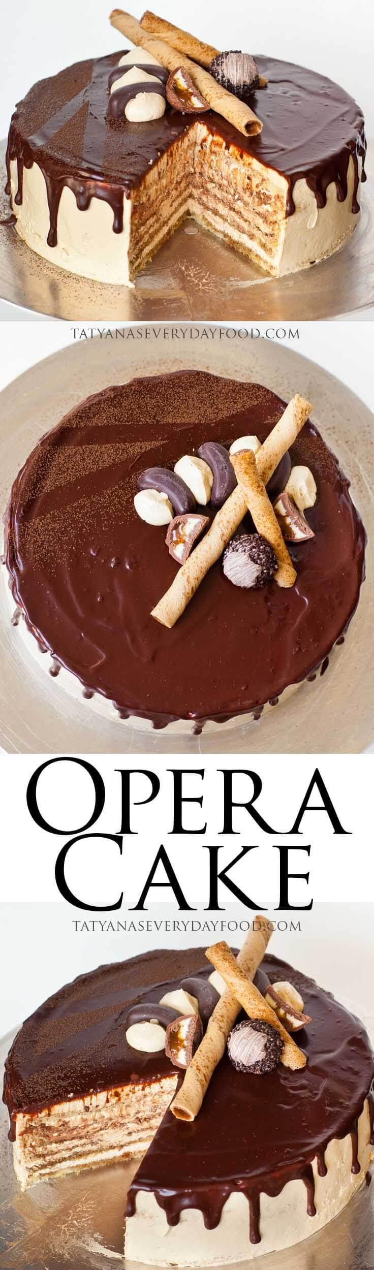 Opera Cake Tatyana S Everyday Food