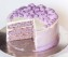 Lavender and Peach Cake