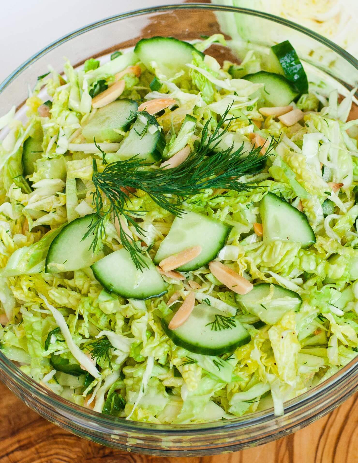 Cucumber Cabbage Salad