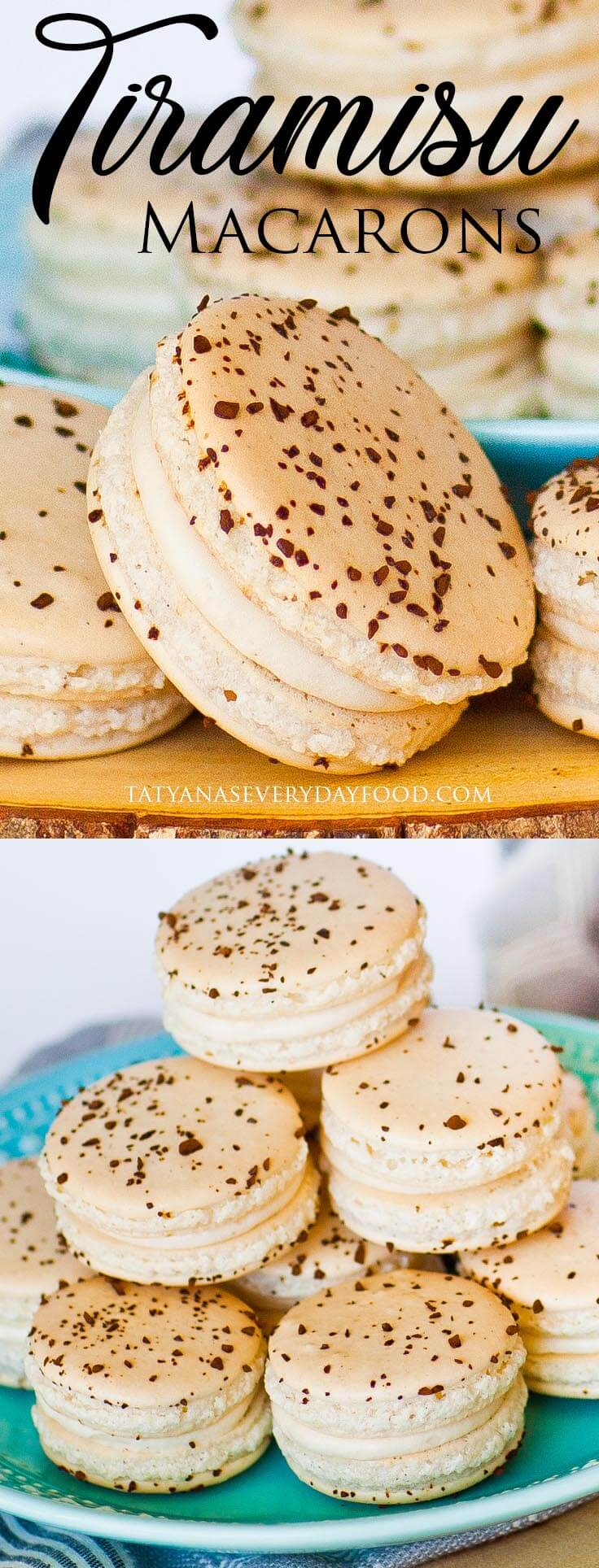 Tiramisu French Macarons video recipe