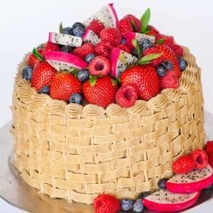 Basket Weave Cake decorating tutorial