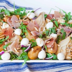 Prosciutto and Pear Salad
