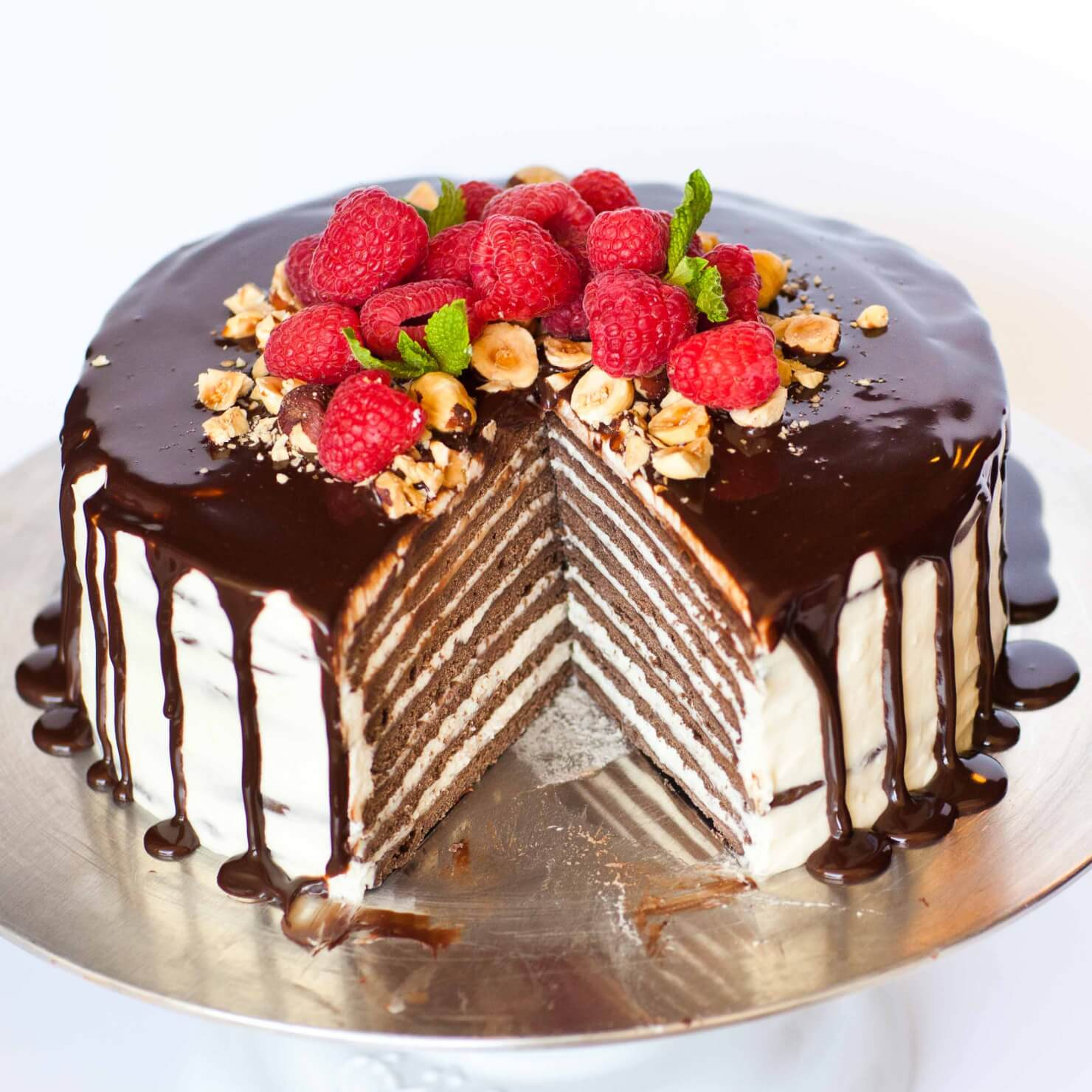 Russian Chocolate Layer Cake