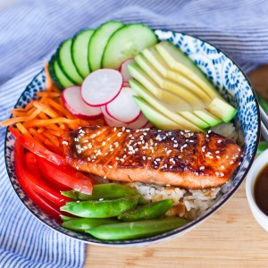 Teriyaki Salmon Bowl thumbnail