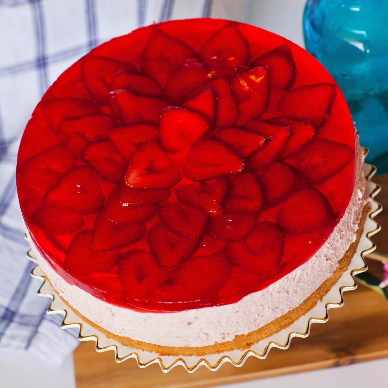 Tatyanas Everyday Food Strawberry Mousse Cake
