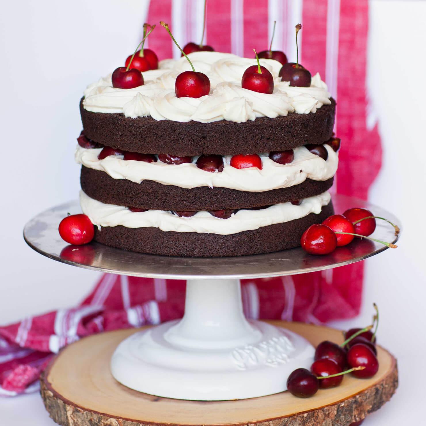 Chocolate Cherry Cake - Tatyanas Everyday Food