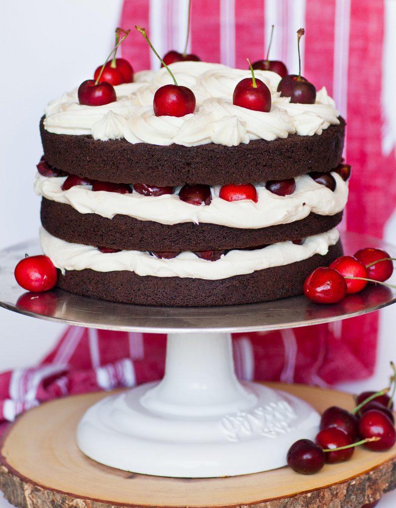 Keto Black Forest Cake Recipe