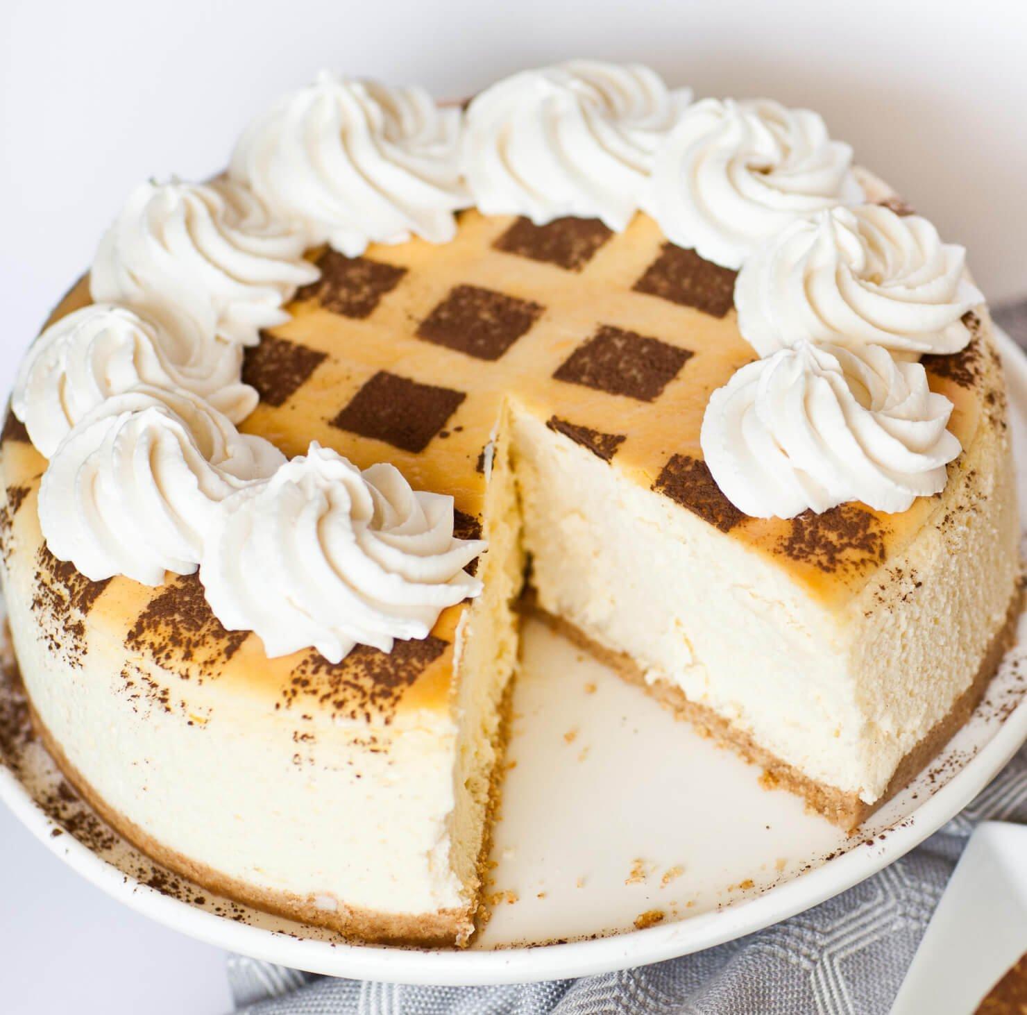 Tiramisu Cheesecake Video Tatyanas Everyday Food
