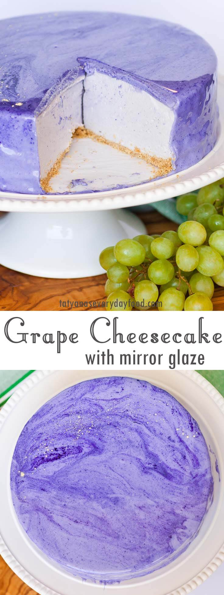 No-Bake Grape Cheesecake video recipe