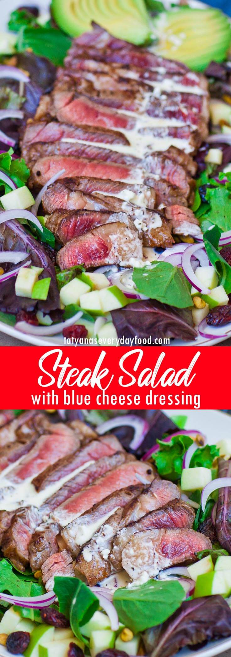 Blue Cheese Steak Salad video recipe