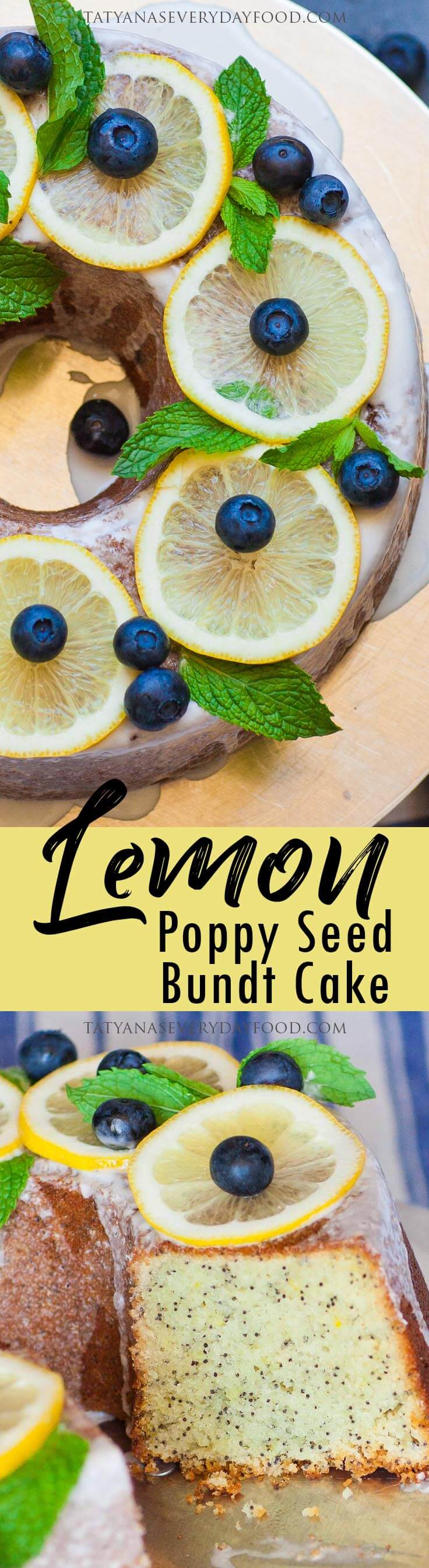 Lemon Poppy Seed Bundt Cake video recipe