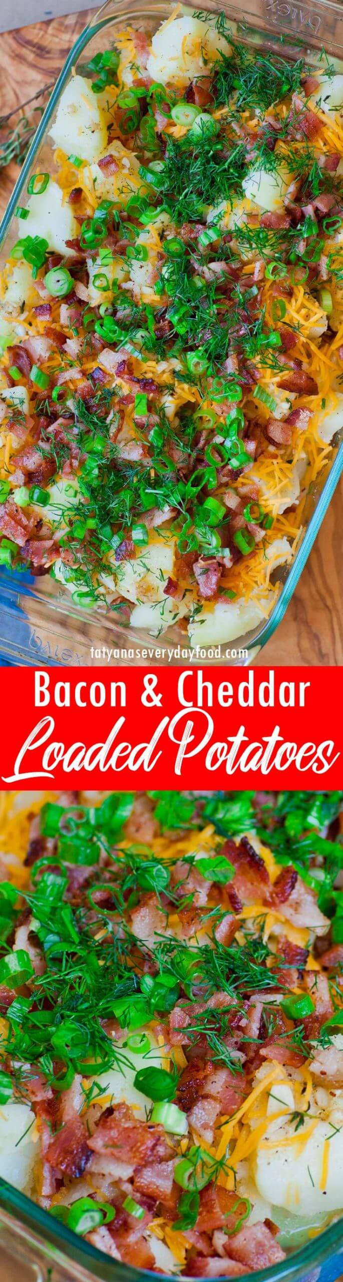Loaded Bacon and Garlic Potatoes video recipe
