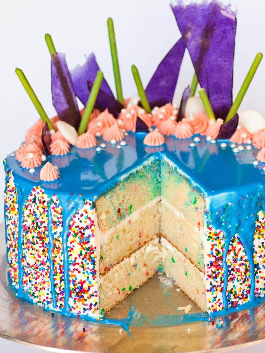 Ultimate Birthday Cake Video Tatyanas Everyday Food