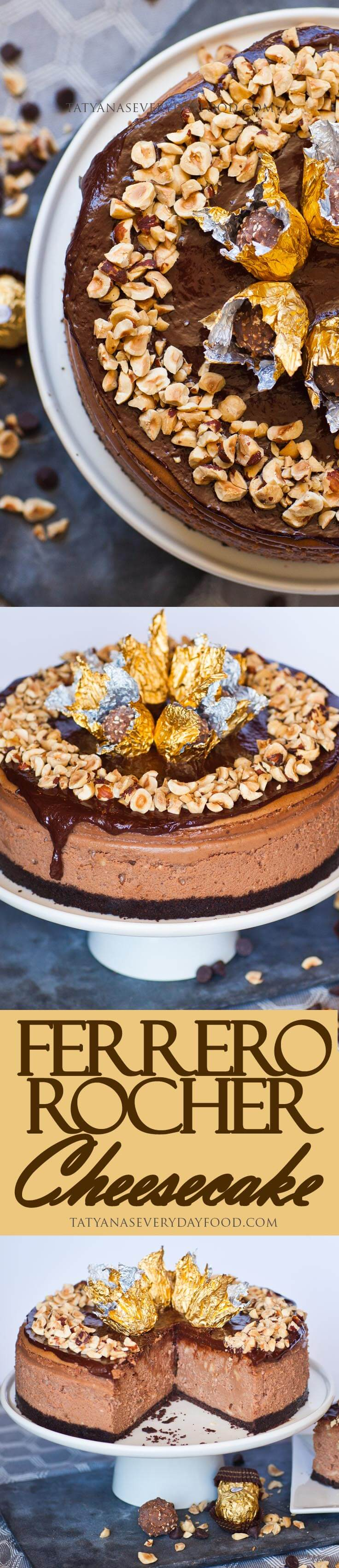 Ferrero Rocher Cheesecake - Tatyanas Everyday Food