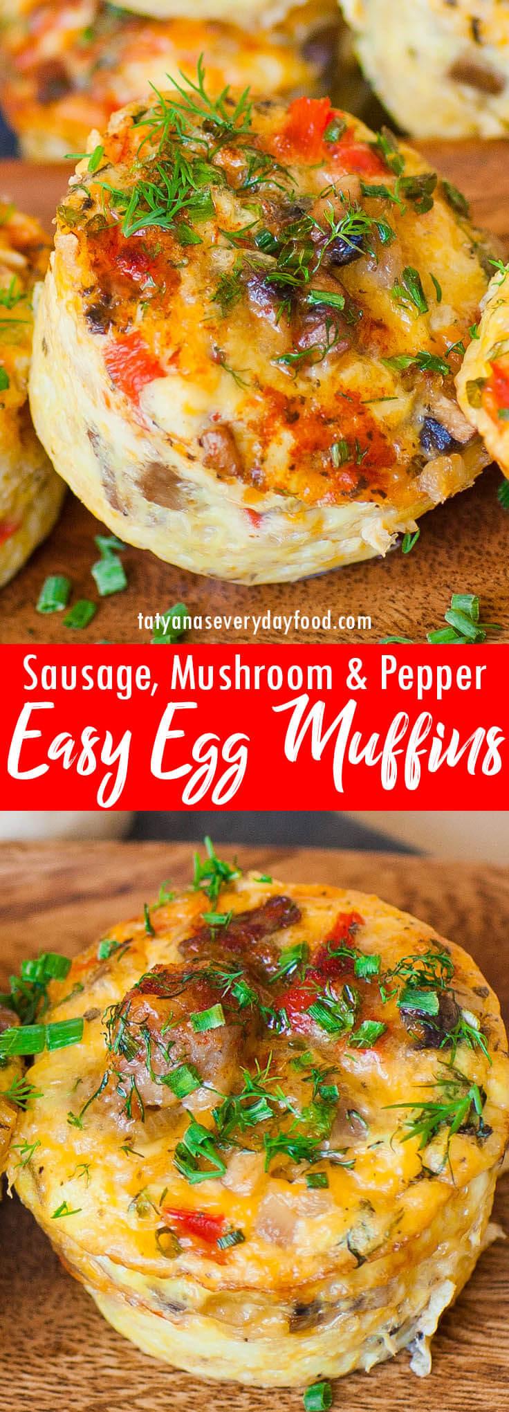 Easy Egg Muffins video recipe