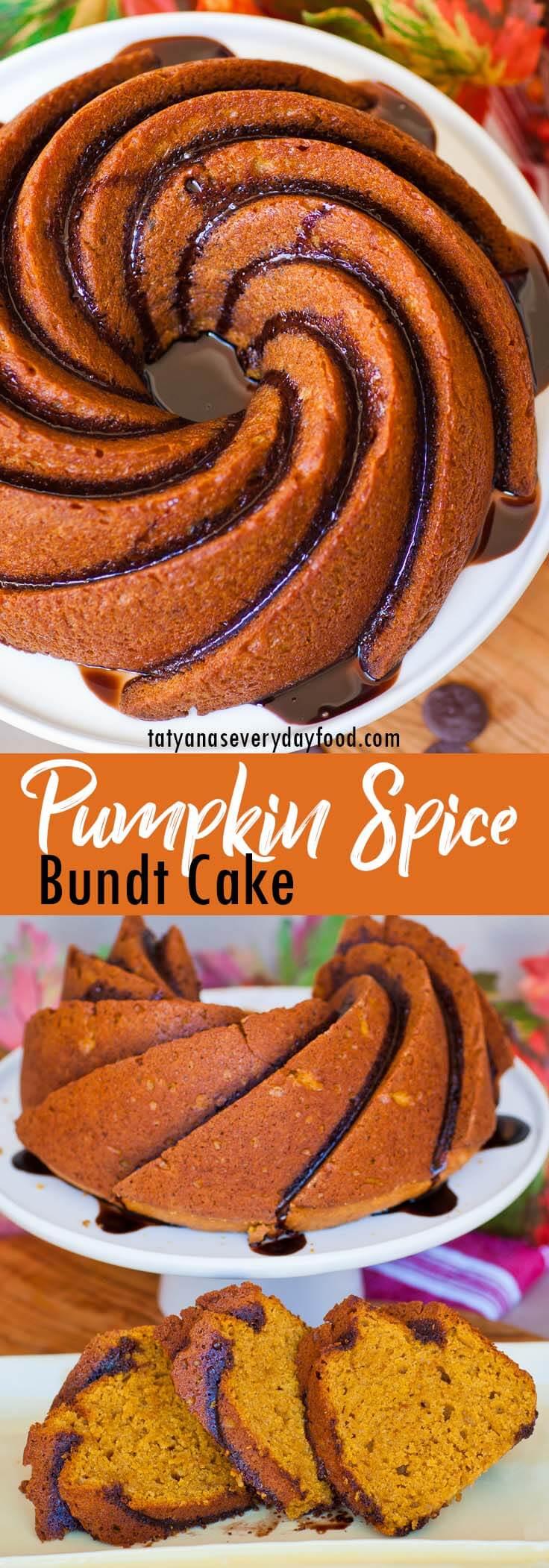 Maple Pumpkin Bundt Cake video recipe