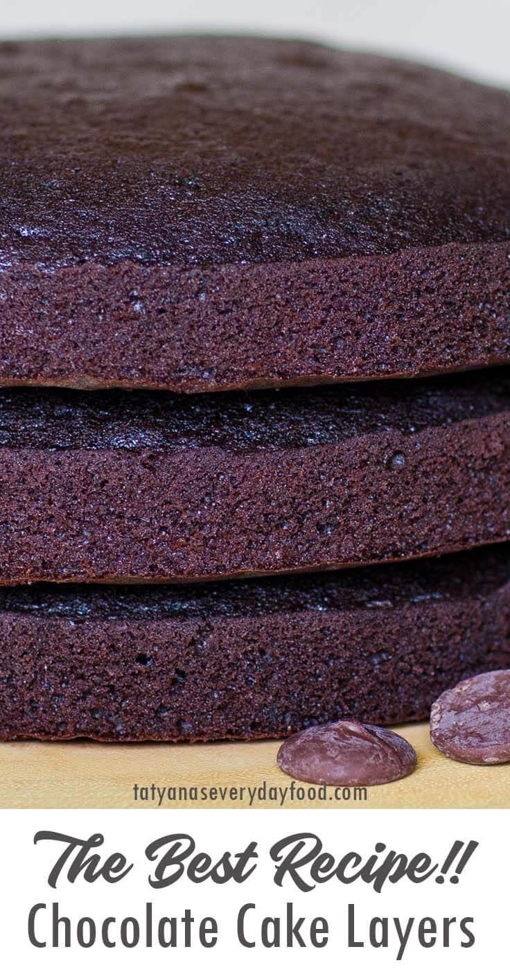 The Best Chocolate Cake video recipe
