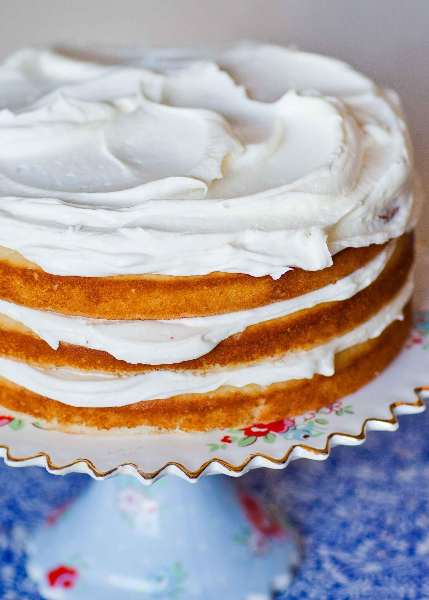 Easy Vanilla Cake Recipe (video)