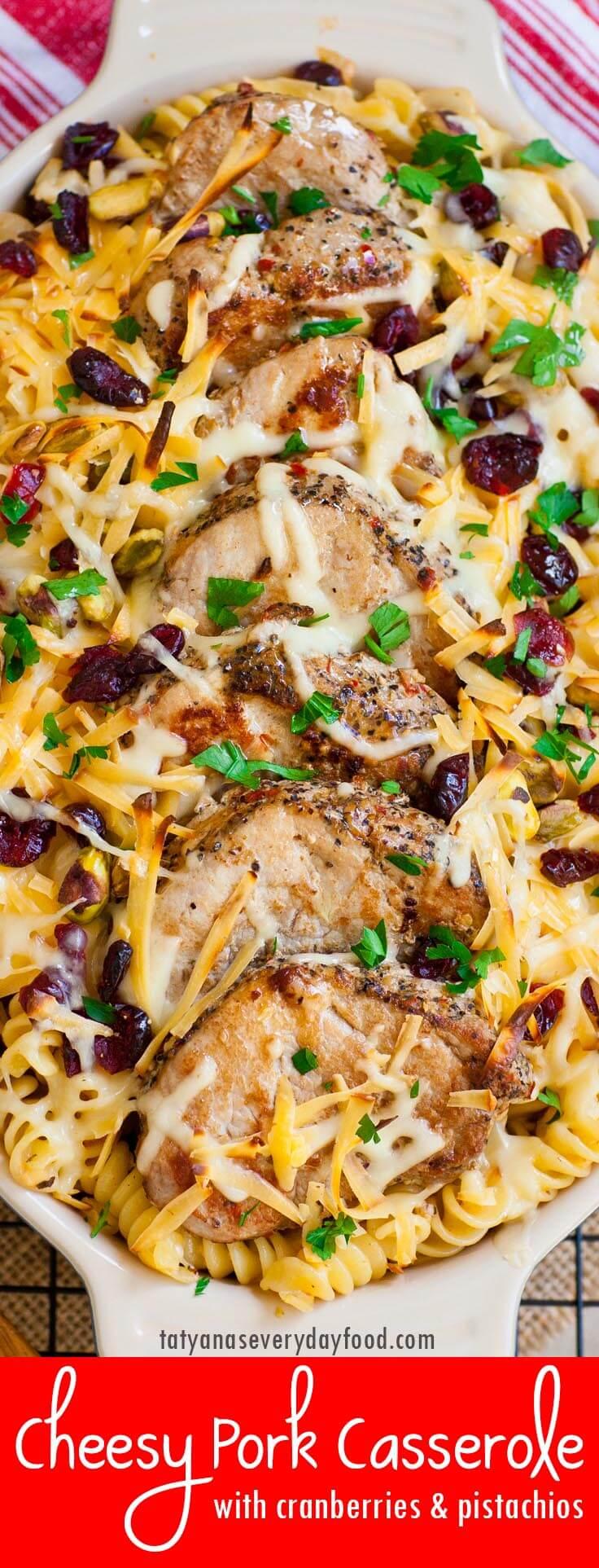 Cheesy Pork Casserole video recipe