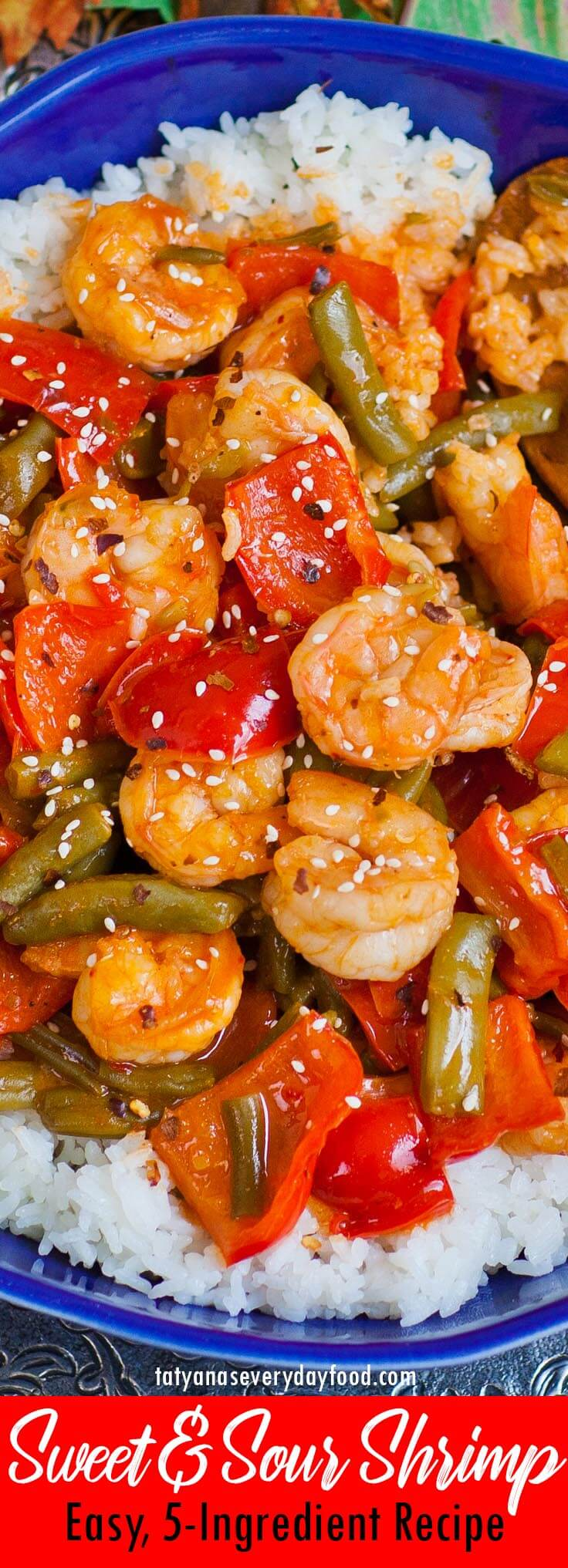 Sweet and Sour Shrimp video recipe