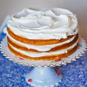Simple Vanilla Cake Recipe