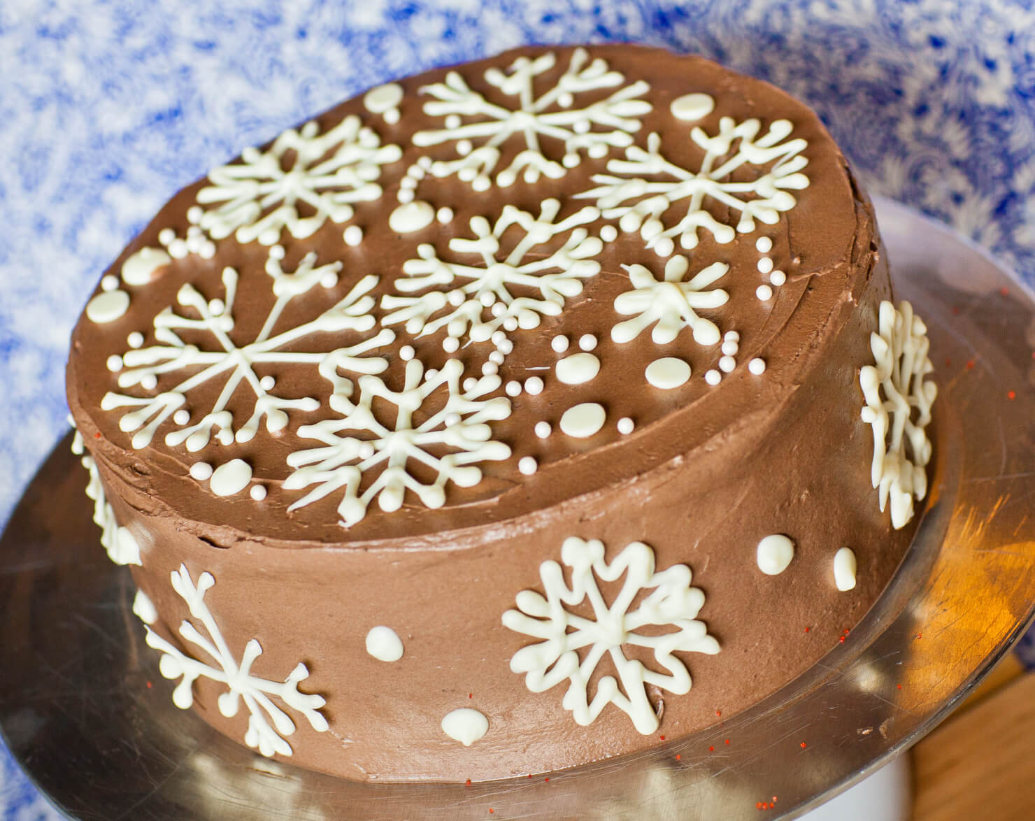 Holiday Eggnog Cake