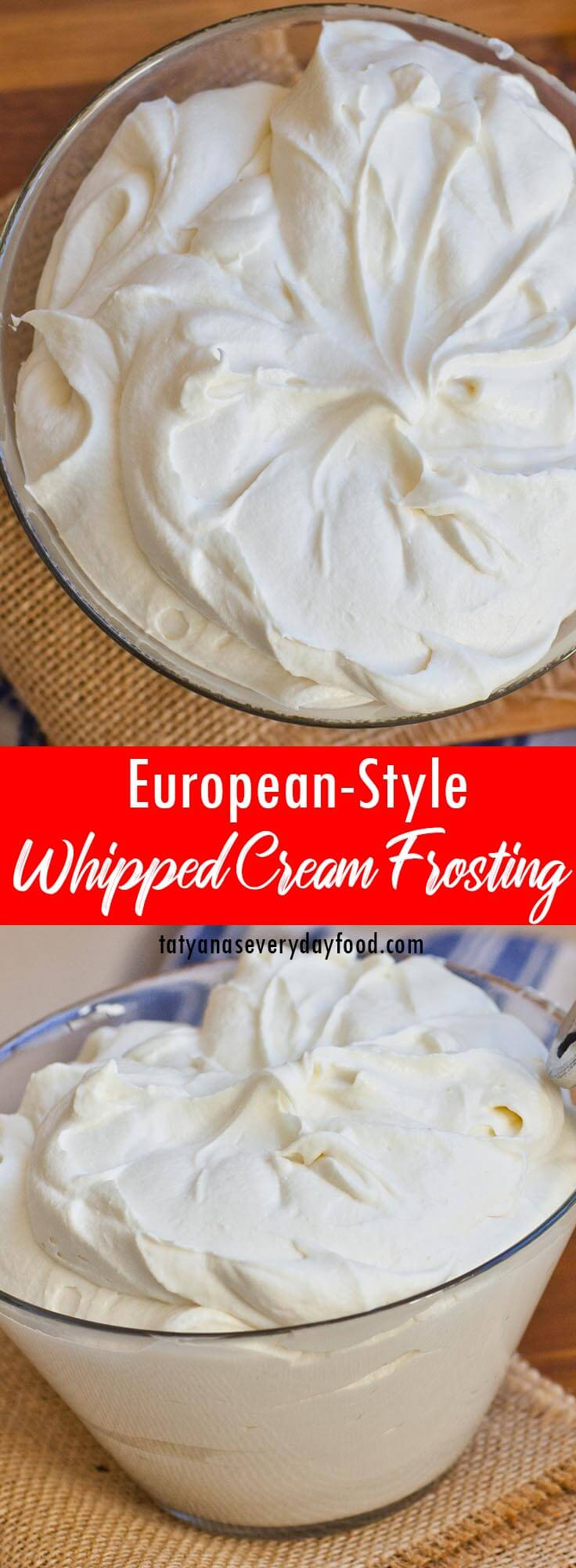 European-Style Whipped Cream Frosting video recipe