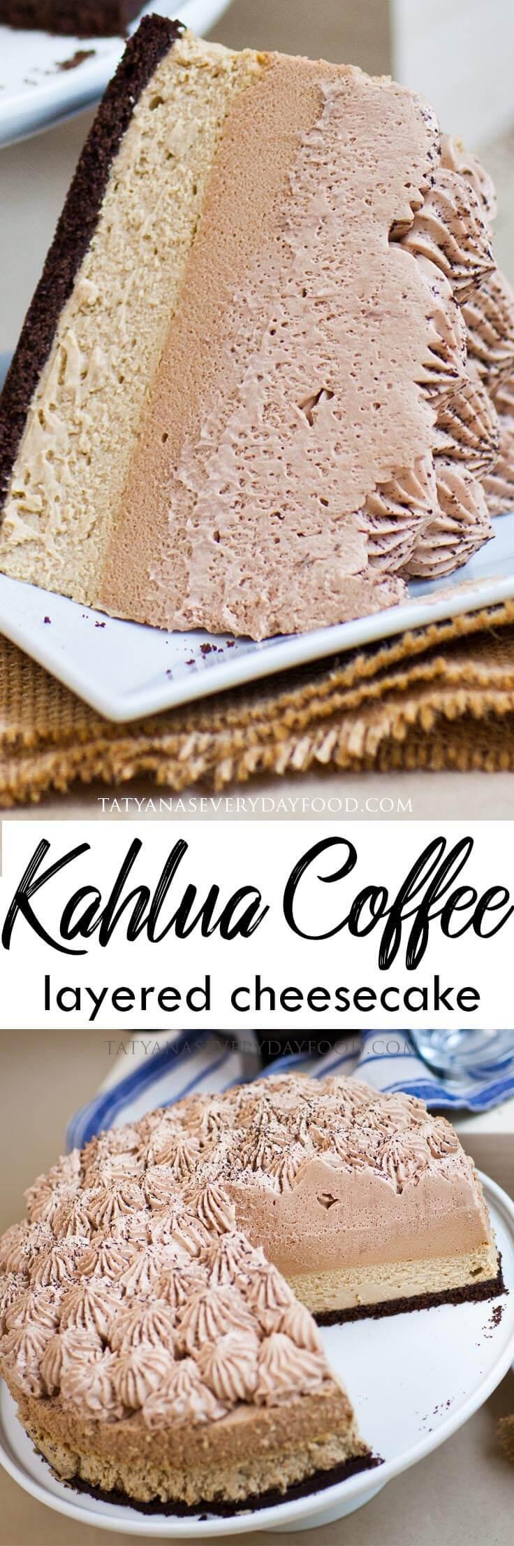 Kahlua Coffee Cheesecake video recipe