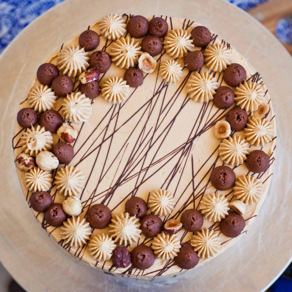 Украшение тортов по шагово фото