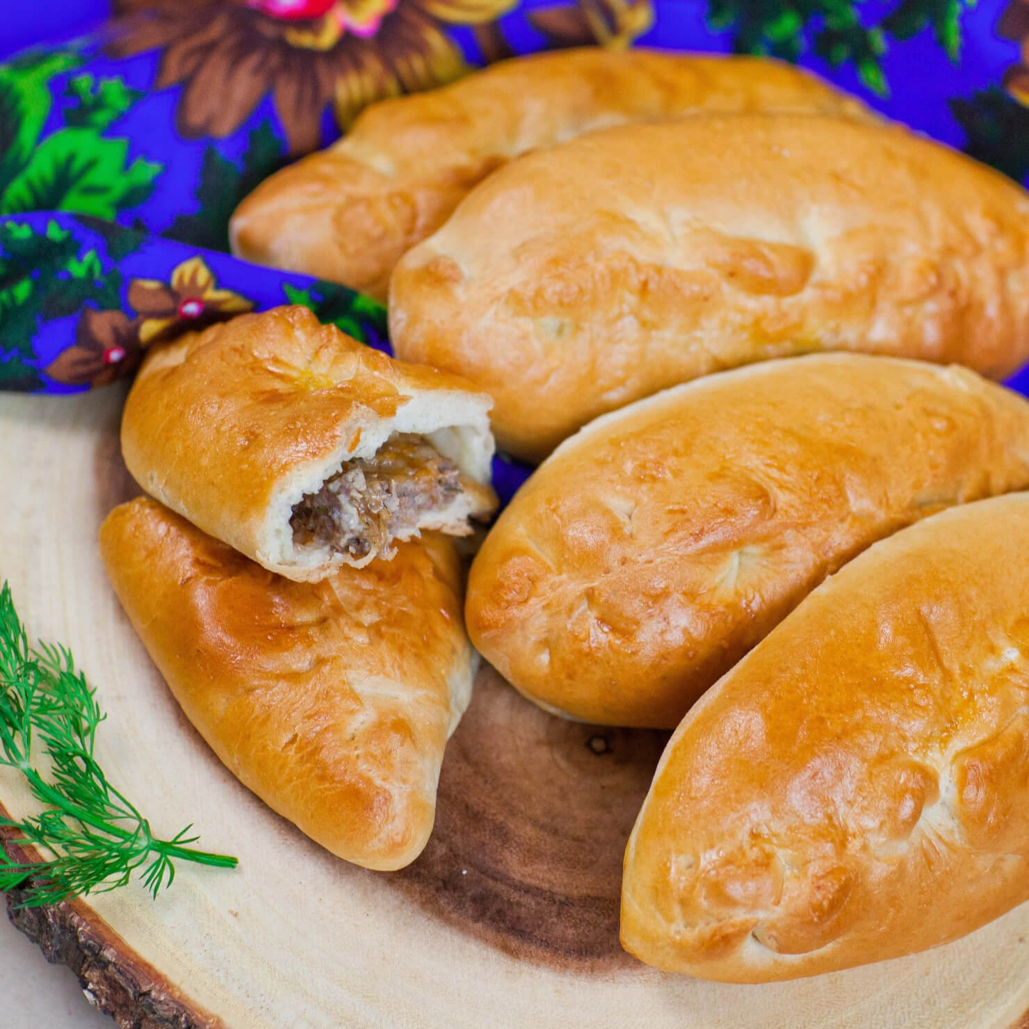 Meat & Cheese Piroshki