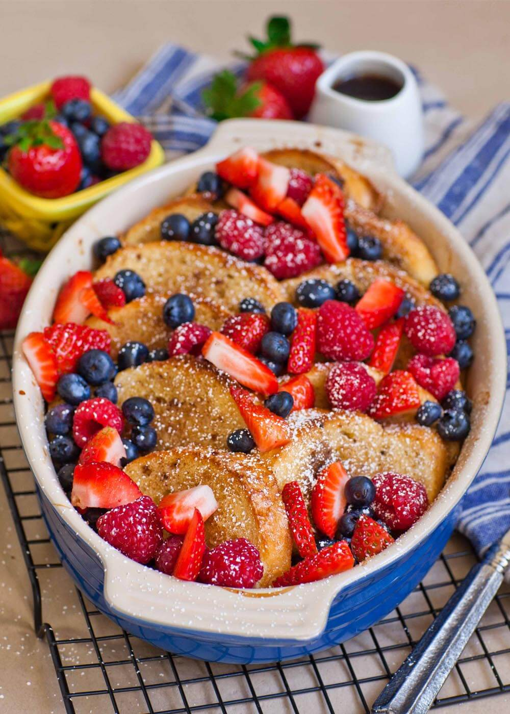 Baked Berry French Toast Recipe (video)