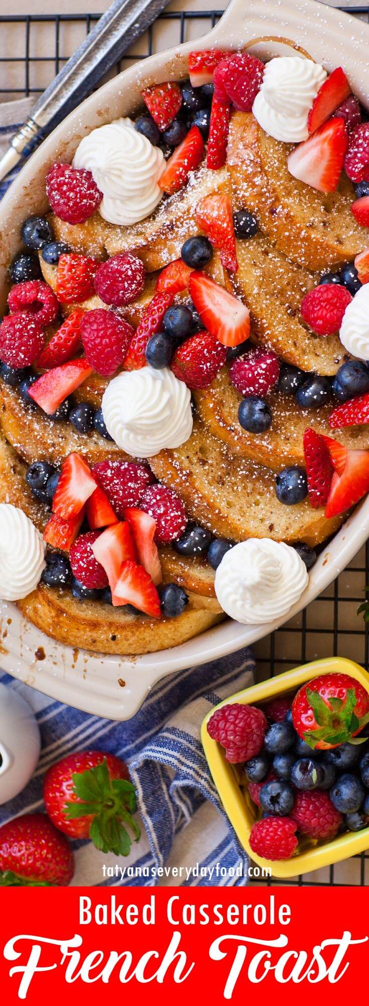 Berry Baked French Toast video recipe