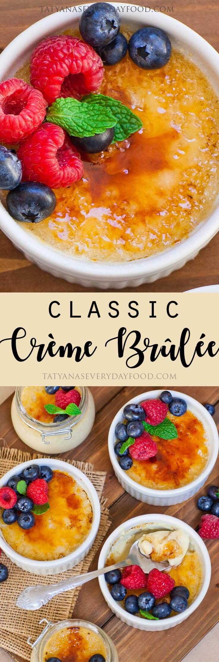 Classic Creme Brulee video recipe