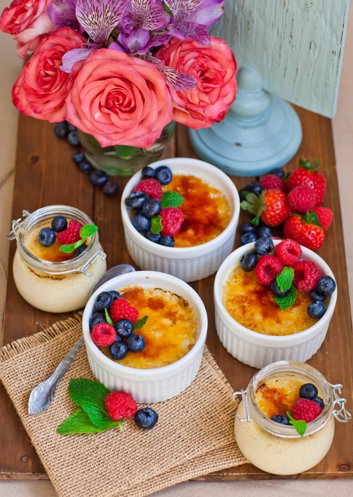 classic creme brulee recipe with berries