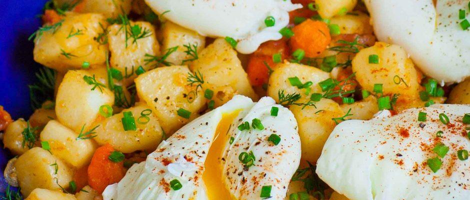 Breakfast Potatoes - Жареная Картошка